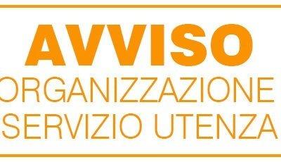 Organizzazione servizio all'utenza