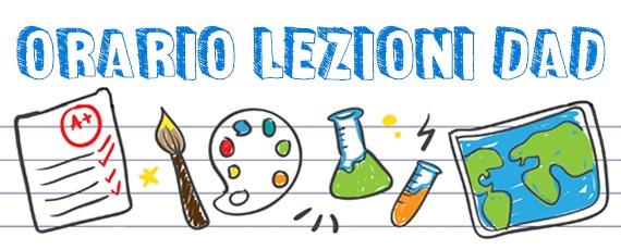 ORARIO LEZIONI DAD | icbiagiosiciliano.edu.it