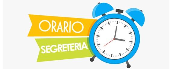 Variazione orario di ricevimento al pubblico – uffici di segreteria